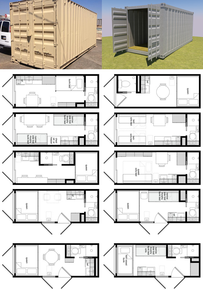 домов из контейнеров - Dwelling houses SKANDY HOUSE - production of eco-friendly and inexpensive houses from containers